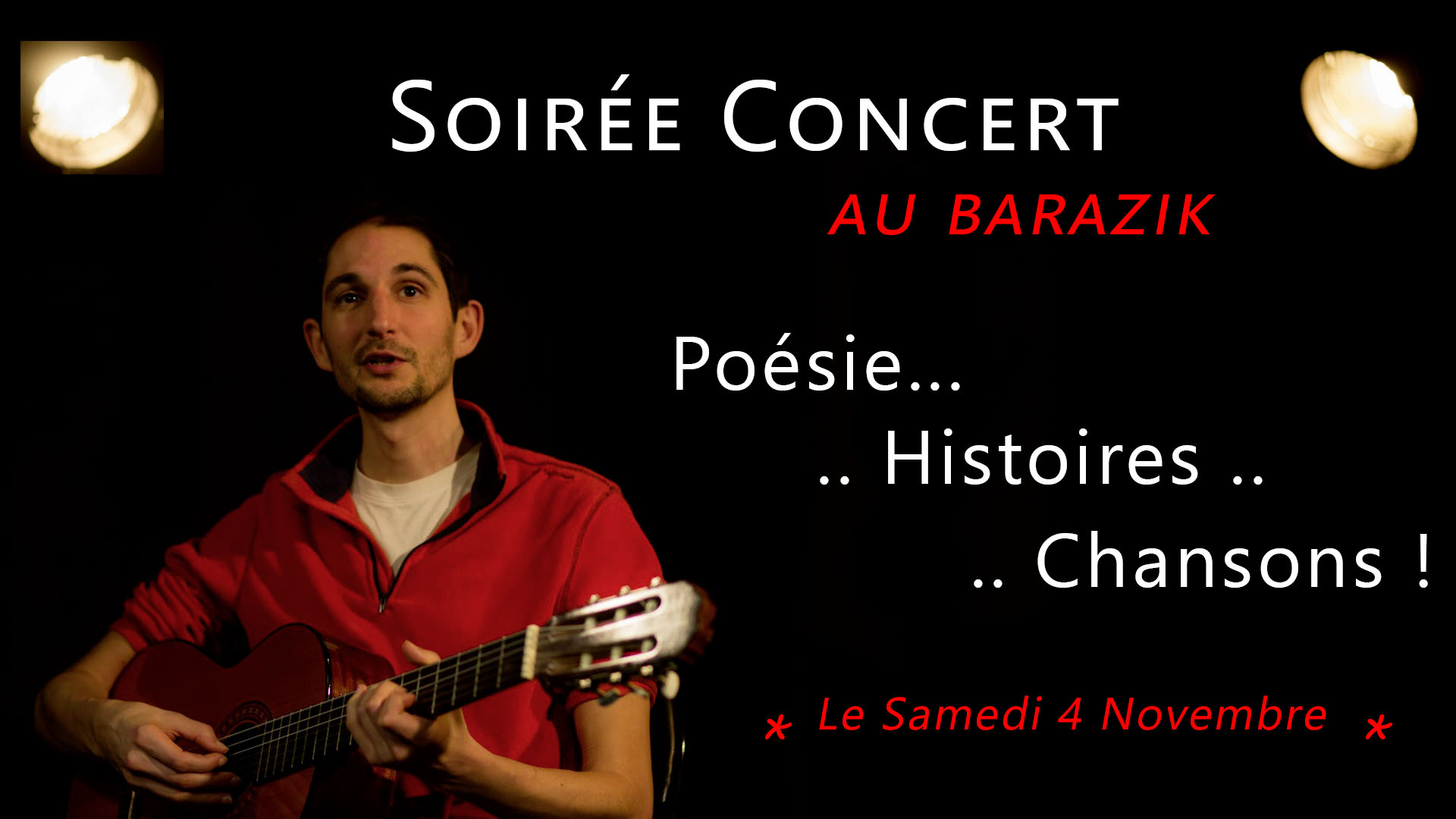 Philippe Rovere - Concert au Barazik