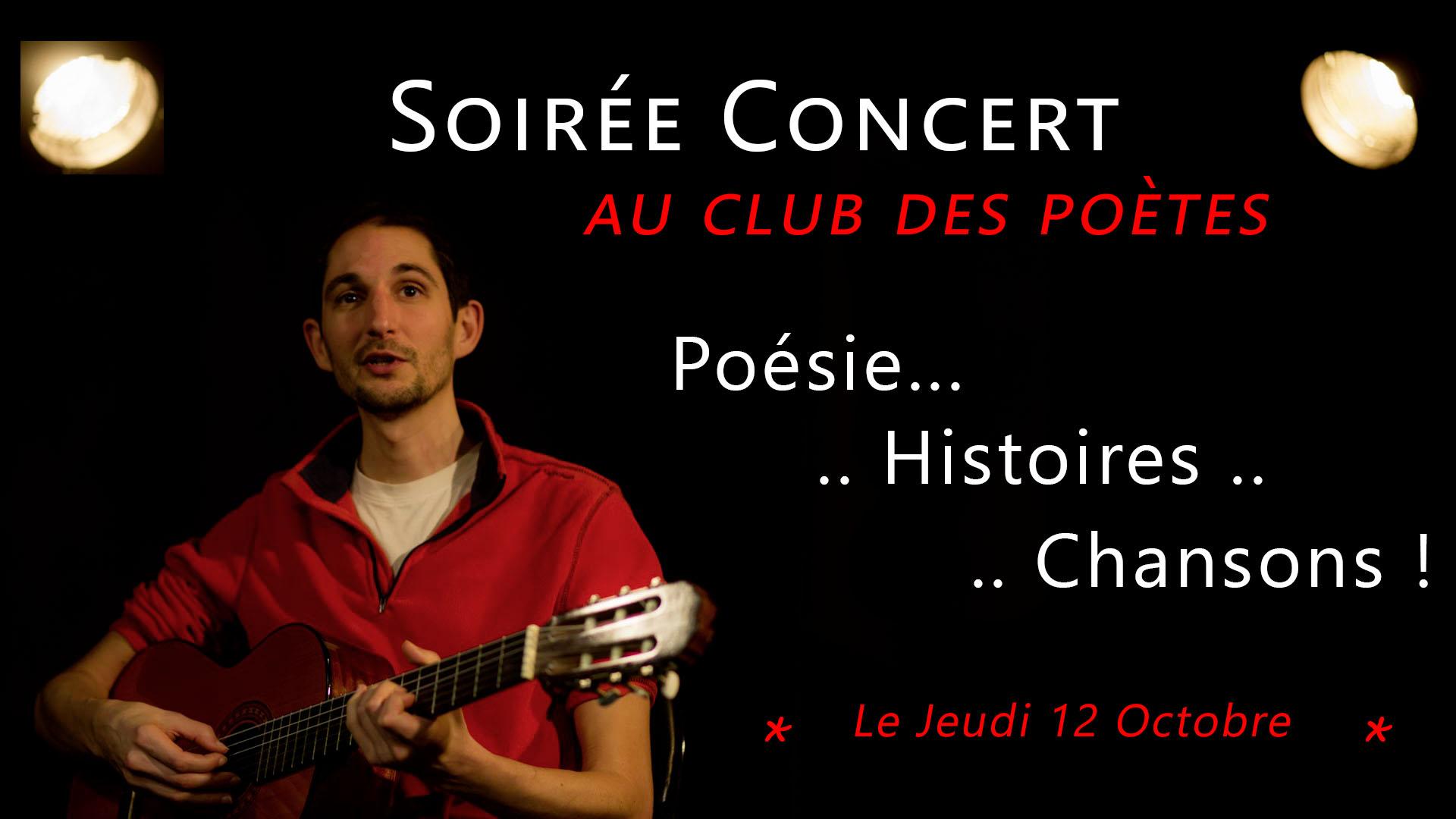 Philippe Rovere - Concert club des poetes