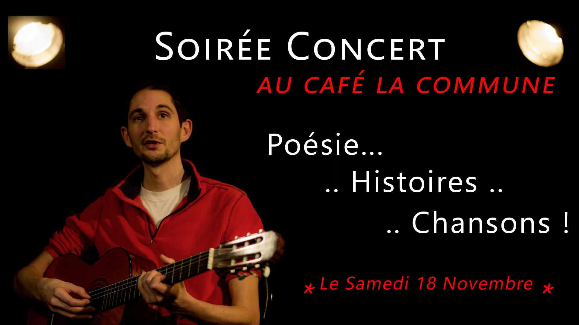 Philippe Rovere - Concert au café La Commune